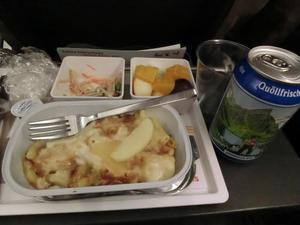 スイス国際航空に乗る -