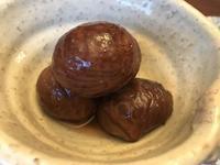 栗の渋皮煮 - カナディアンロッキーで暮らす