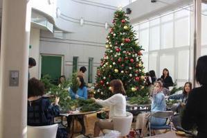 12/1 クリスマスリース教室 - 東京ライトハウスチャーチブログ
