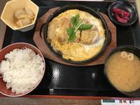 「カツ煮定食」極楽湯でランチ - よく飲むオバチャン☆本日のメニュー