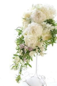 ブーケドマリエからブーケロン♪二つのスタイルが学べるブーケ専科 - お花に囲まれて
