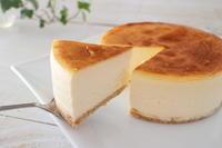 感動のとろけるチーズケーキ - おうちカフェ*hoppe