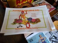 Vintage MacDonaldplace mat! - OIL SHOCK ZAKKA