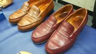 プロ「と」靴を磨く - シューケアマイスター靴磨き工房 銀座三越店