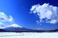 31年3月の富士(9)名残り雪と富士 - 富士への散歩道 ~撮影記~