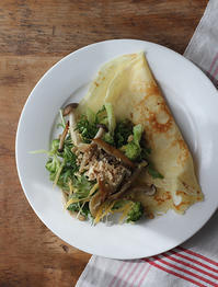 クレープサラダ - Nasukon Pantry