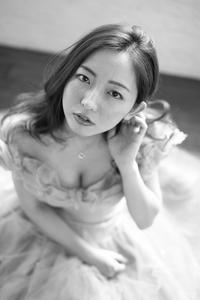 椎山なつみちゃん32 - モノクロポートレート写真館