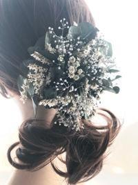 入園式にもぴったりな髪飾り・コサージュ - プリザーブドフラワーアレンジメント制作日記