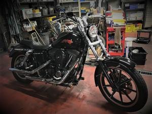 3月の車検 - Cyla motorcycle DEPT.