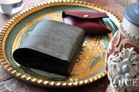 イタリアンレザー・プエブロ・コンパクト2つ折り財布とコインケース - 時を刻む革小物 Many CHOICE~ 使い手と共に生きるタンニン鞣しの革
