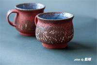 紅いカップ - 藍の郷