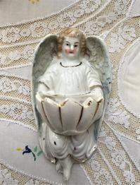 天使の聖水盤3 - スペイン・バルセロナ・アンティーク gyu's shop