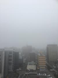 霧のロンドン、、、いや、岡山。 - ストレートアヘッド本店支店出張所(岡山支部)