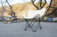 【初老のキャンプ道具(笑)】ホールアース バタフライチェア WE27DC21 - SAMのLIFEキャンプブログ Doors , In & Out !