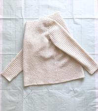 かぎ針編みのプル、完成! - セーターが編みたい!