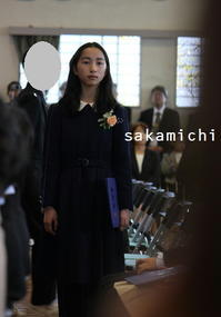 卒業式の服 - sakamichi