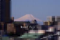 富士山と謎の飛行物体と心の塊 - イナンナとうさぎの気持ちと色々