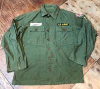3月23日(土)入荷!50sU.S ARMY OG-107  1st サテンシャツ!! - ショウザンビル mecca BLOG!!