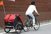 自転車用ベビーカー展示のお知らせ♪ - 秀岳荘自転車売り場だより