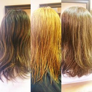 ダブルカラーで髪色チェンジ!! - Belin's  Blog