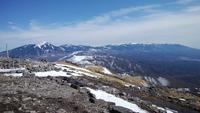 八ヶ岳リトリートハウスFlanのキセキ登山講習とスキー - 山と元太