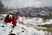 """残雪の候、手宮富士に登る - ときどきの記 by 小樽の出版社""""ウィルダネス""""のブログ"""