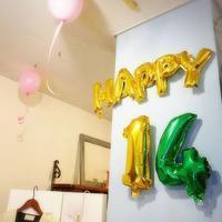 ☆14周年お祝いしてくれて、ありがとうございます♡☆ - ☆ステキな沖縄生活☆  沖縄のかわいい、おいしい、たのしいをジーンから