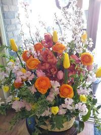 卒園式のお花 - ブランシュのはなたち