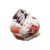 FRANCO FERRARI フランコ・フェラーリ パイソン柄モダールリネンシルクストール - 下町の洋服店 krunchの日記