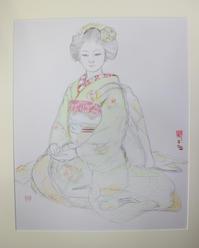 2011.3.18先斗町光菜さんのデッサン - 黒川雅子のデッサン  BLOG版