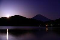 31年3月の富士(15)芦ノ湖からの富士 - 富士への散歩道 ~撮影記~