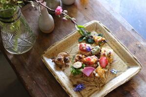 お料理教室で発酵モザイクちらし寿司 at ひねもす食堂 - キラキラのある日々