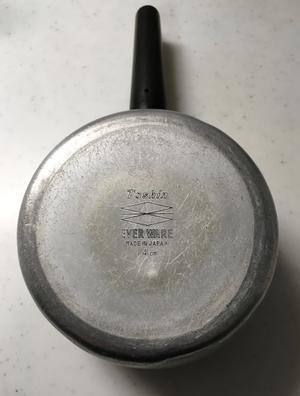 『我が家で一番古いモノ、エバーウエアの14cm片手鍋・・』 - NabeQuest(nabe探求)
