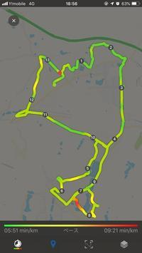 ハーフマラソン2時間トレーニング #04 - ( どーもボキです > Z_ ̄∂