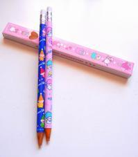 サンリオの 懐かし柄 鉛筆型ボールペン - ダリア日記帳