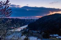 月ヶ瀬日の出 - toshi の ならはまほろば