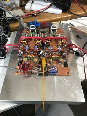 KH6-350S 3号機製作進捗 基盤調整完了 - JA1BOP's RADIO ON AIR !