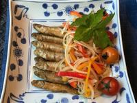 ワカサギのマリネ&鯛の緑酢和え - やせっぽちソプラノのキッチン2