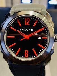 ブルガリ オクト ウルトラネロ - 熊本 時計の大橋 オフィシャルブログ