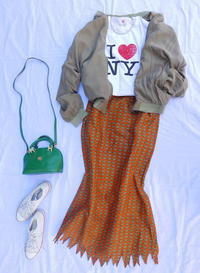 Coodinate African skirt - carboots