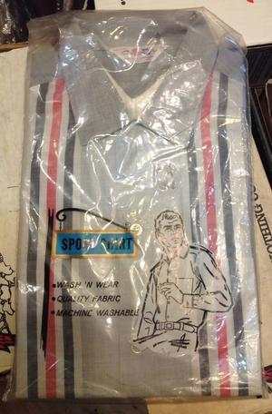 3月25日(月)入荷!60s デッドストック all cotton vintage オープンカラー ボックスシルエット シャツ! - ショウザンビル mecca BLOG!!