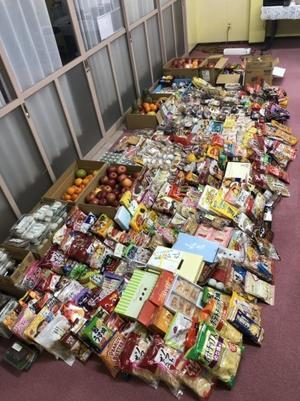 八戸市内26寺院からフードバンク事業へのご協賛あり、母子家庭へ配布 - 日本救護団