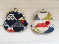 富士山のがまぐち♫ - Cherry Creek                                                 ~ちくちく手芸部!ときどきファーム~