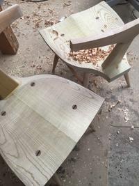 Otoチェア - 家具工房モク・木の家具ギャラリー 『工房だより』