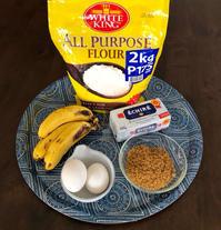 バナナケーキ - 南国で つぶやく