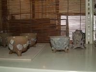 陶芸作業途中経過・一輪挿し - 織月紅希の真っ赤な月窯ギャラリー