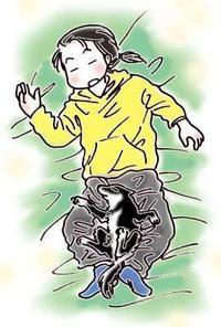 オヤツキャッチいっちゃん&復活シバツレ漫画追加 - 柴と徒然日記
