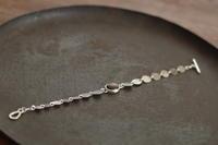 ブロンザイトブレスレット - 石と銀の装身具
