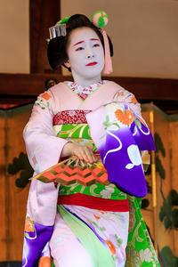 北野追儺式・奉納舞踊(上七軒ふみ幸さん、梅たえさん、勝貴さん) - 花景色-K.W.C. PhotoBlog