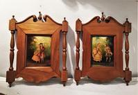 木製額878,879 - スペイン・バルセロナ・アンティーク gyu's shop